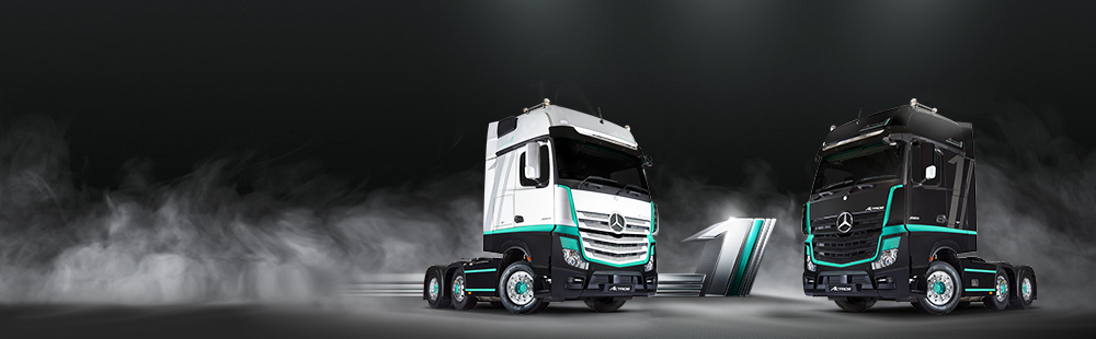 The UK limited Edition Actros1