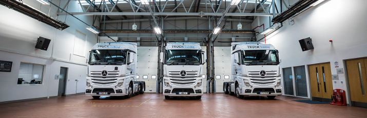 Mercedes-Benz onsite training courses